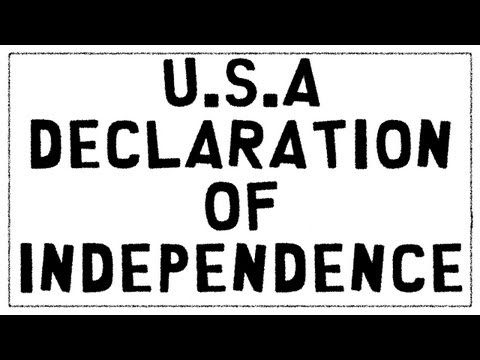 U S A Declaration of Independence Secrets