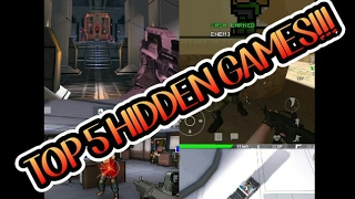 TOP 5 - HIDDEN SHOOTING GAMES ON ANDROID!