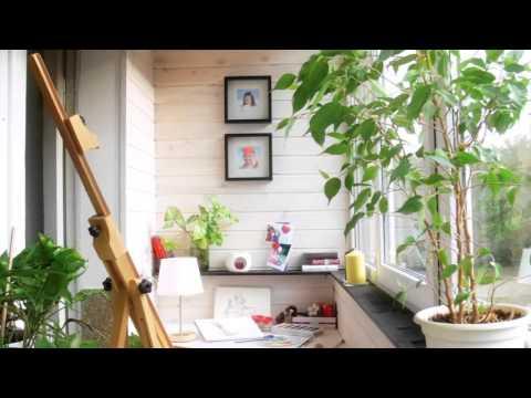 Дизайн балкона: интересные идеи отделки с фото