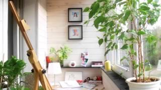 Уютный дизайн маленького балкона и дизайн лоджии(Мы предлагаем интересные идеи дизайна маленького балкона и дизайн лоджии. У 90% населения маленькие квартир..., 2016-02-04T19:30:44.000Z)