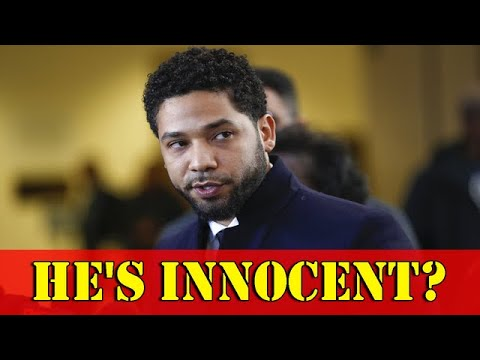 Jussie Smollett insists he's innocent | US NEWS