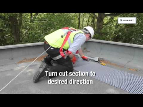 DukMat Rooftop Walkways | FIXFAST USA
