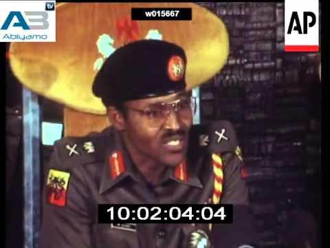 General Buhari Coup D etat In 1983.