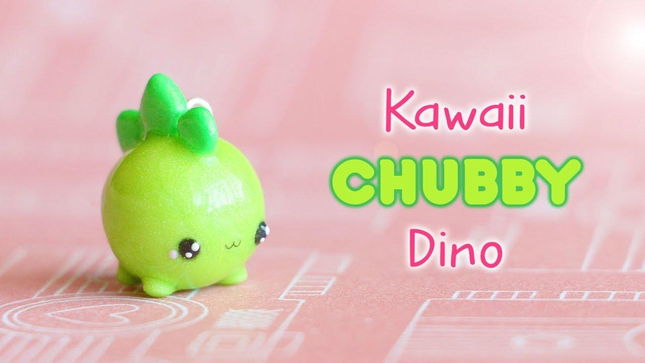 Image of: Kawaii Friday Kawaii Chubby Dinosaurpolymer Clay Tutorial Youtube Kawaii Chubby Dinosaurpolymer Clay Tutorial Youtube