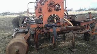 Смазка трактора и сеялок. 2018 год