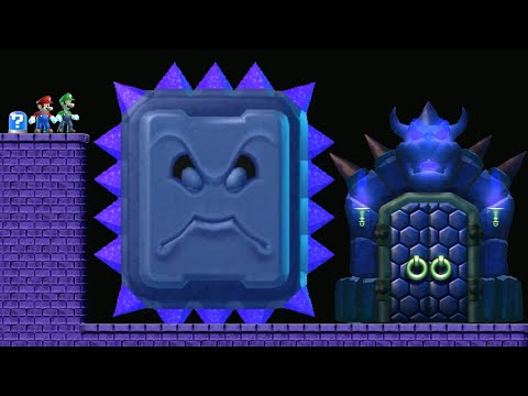 New Super Mario Bros U Volcanic - Full Game Walkthrough
