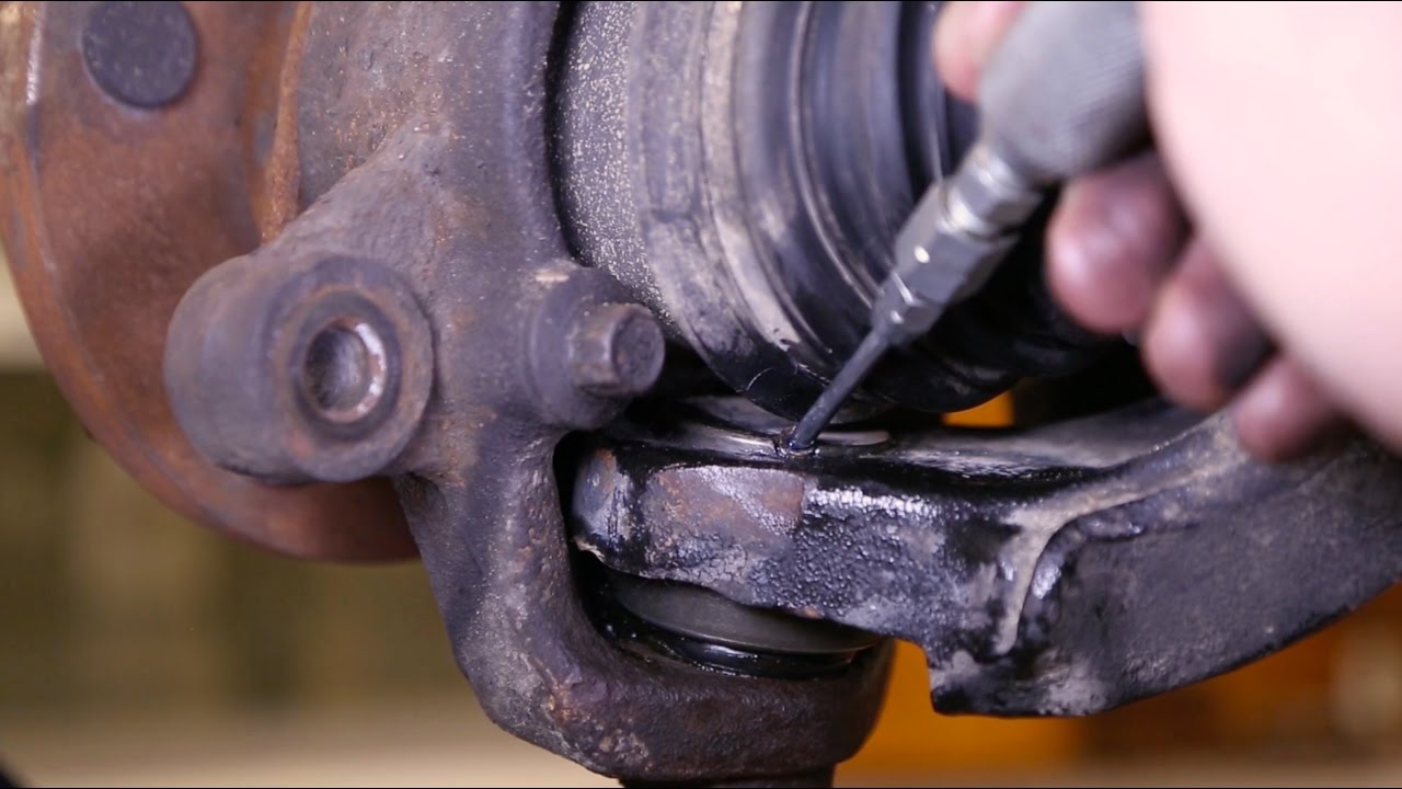 lower ball joint no grease? - JeepForum com