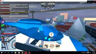 playing roblox Jailbreak the popular game of roblox
