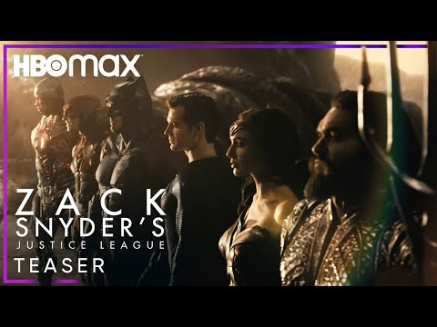 JUSTICE LEAGUE: THE SNYDER CUT (2021) • Official Teaser Trailer | HBO Max • Cinetext📲