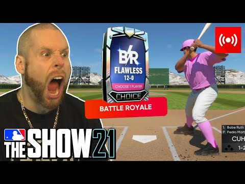 Attempting to go 12-0 on MLB the Show 21 again