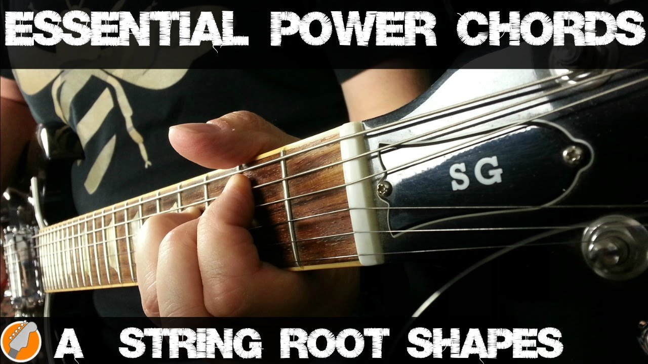 Power Chord Shapes