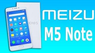 РАСПАКОВКА Meizu M5 Note - НОВЫЙ ПЯТЫЙ НОУТ!