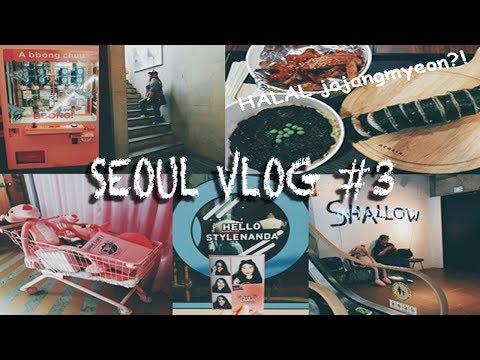 Seoul Vlog #3 (CHUU, Stylenanda & Halal Jajangmyeon...)