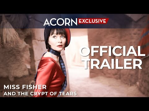 Miss Fisher and the Crypt of Tears trailer
