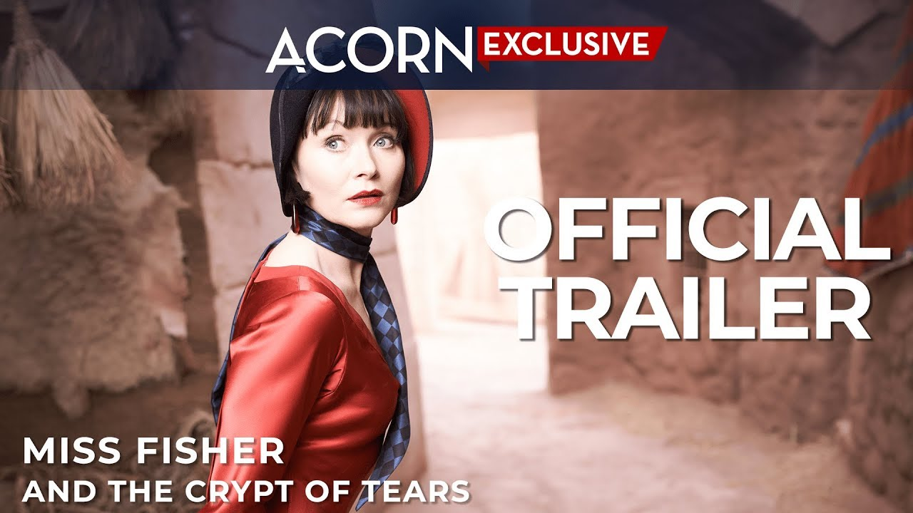 Acorn TV Exclusive | Miss Fisher and the Crypt of Tears | Official Trailer