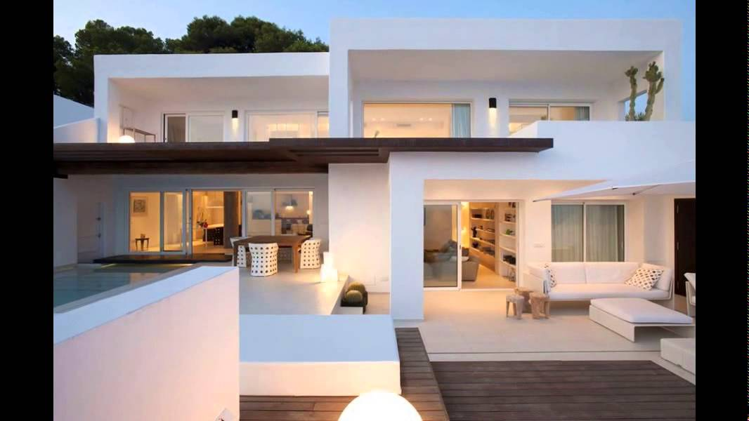 Top 5 modern day home designs 2015 youtube for Modern day houses