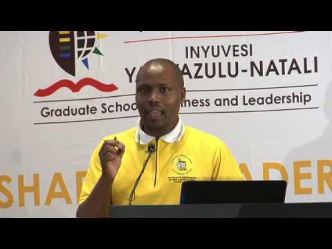 Afrism Debate (UKZN Westille, 2016)