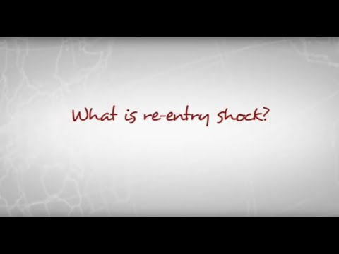 Robin Pascoe - What is re-entry shock?