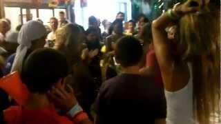 Playa Del Carmen 5th Ave Nightlife CoCo Bongo Girls Vs The Brazilians In Street Dance Off