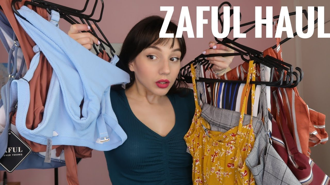 a1a3f68e57e ZAFUL HAUL - Καλοκαιρινά και μαγιό - TRY ON !!! - YouTube