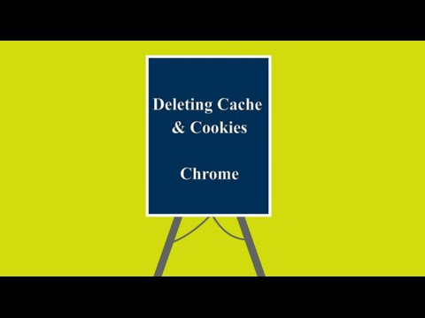 chrome how to delete cookies cache