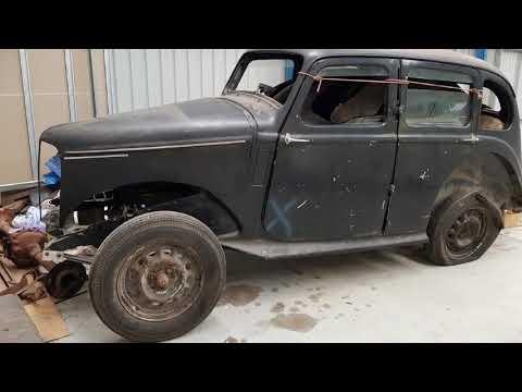 Hillman Minx restoration project by Firma Trading Classic Cars Australia