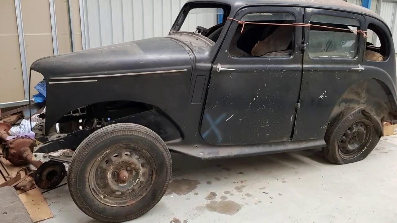 Hillman Minx restoration project by Firma Trading Classic Cars ...
