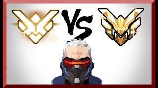 Grand Master Overwatch Player VS Master Players (38% Team Damage)