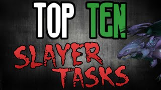 Top 10: Slayer Tasks! [Runescape 2014]