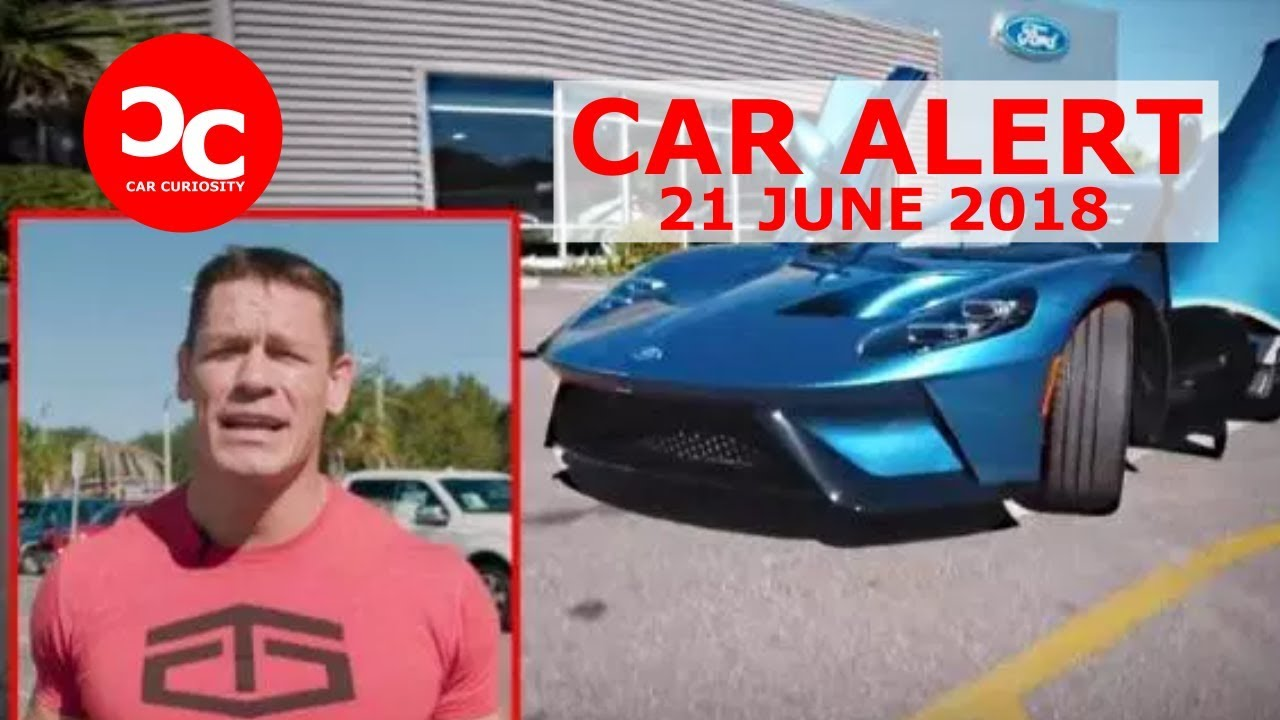 John Cena Taps Out Settles Lawsuit With Ford After Selling His Ford Gt