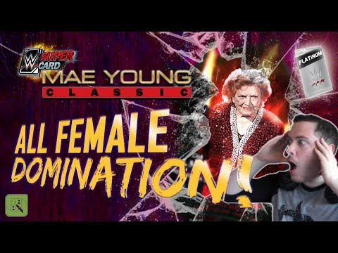 ALL FEMALE RING DOMINATION!! 😱 PLATINUM PACK & WM33 PULL! | WWE SuperCard