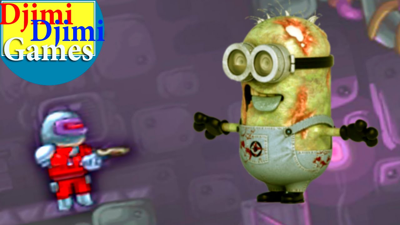 Planet Zombie Minions 1 Travel Start Cartoon Game New Animation