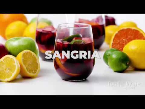Red Wine Sangria Cocktail Recipe