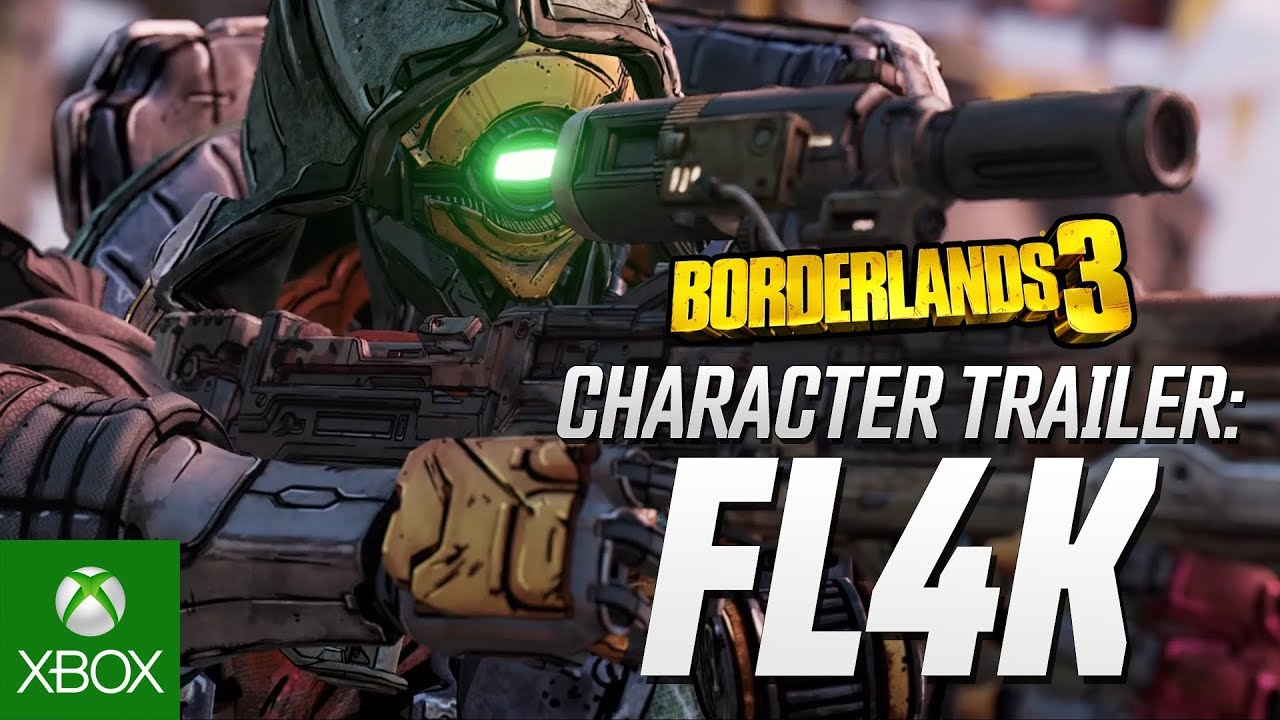 Borderlands 3 - FL4K Character Trailer: