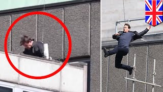 Tom Cruise injures himself while performing stunt for the upcoming Mission Impossible 6 - TomoNews