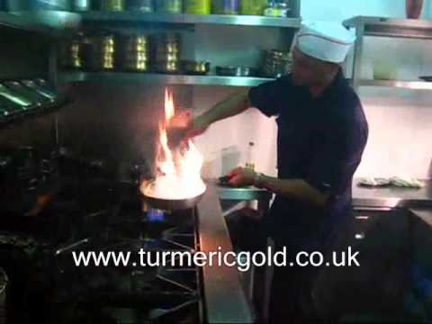 turmeric Gold Restaurant coventry flames