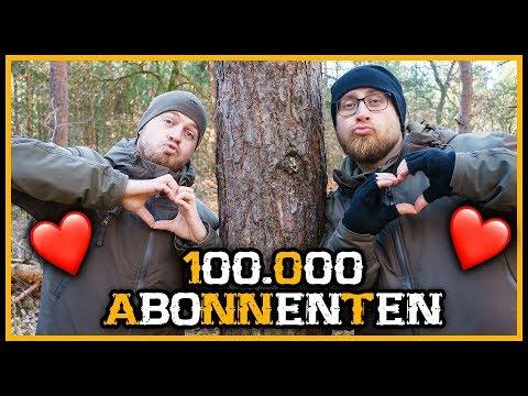 100.000 Abonnenten Special - Rückblick - Outdoor Bushcraft Deutschland