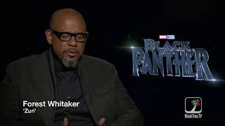 Black Panther on BlackTree TV: Forest Whitaker on Zuri—Exclusive Interview