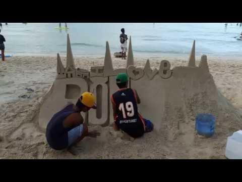 Sand Castles of Boracay