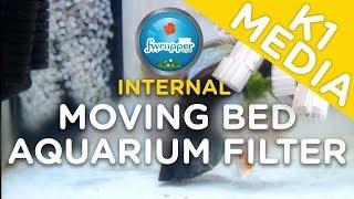 K1 Media Filter | Internal Moving Bed Aquarium Filter | Discus Fish Tank