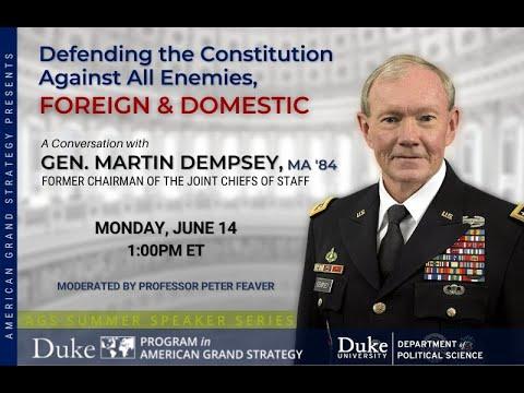GEN(R) Martin E. Dempsey
