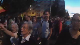 Brasov, 11.08.2018 - Cele trei pensionare din Romania care nu au votat PSD.
