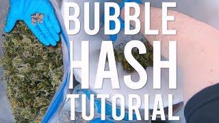 MAKING HASH: TURNING SHAKY TRIM INTO BUBBLE HASH
