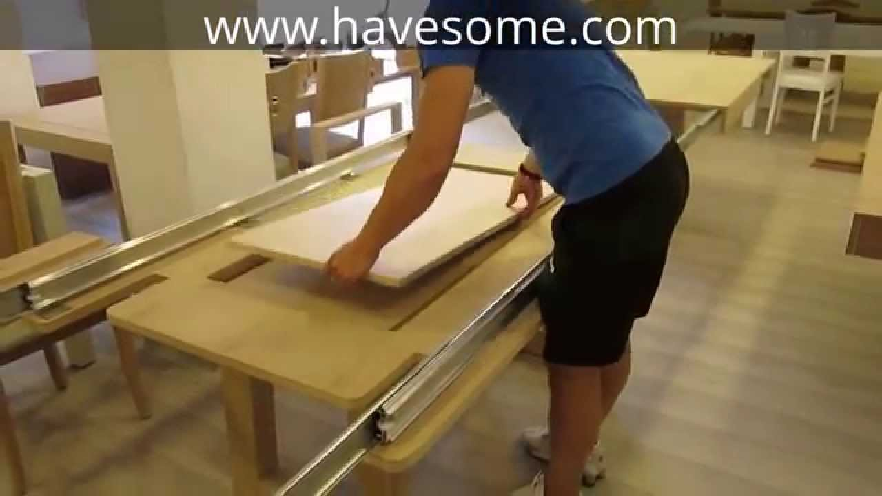 Mega Extendable Dining Table Youtube