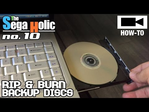 How To Rip & Burn Sega Saturn Games (Make Backups) [SH no.10]