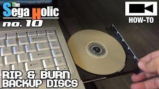 How To Rip & Burn Sega Saturn Games (Make Backups) [SH no.10]