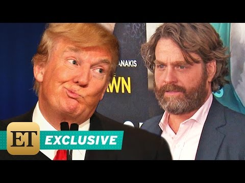 Zach Galifianakis Won't Have Trump on 'Between Two Ferns': He Has the Mind of an 11-Year-Old
