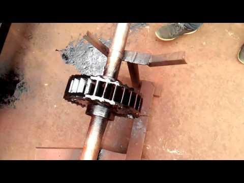 Crossflow turbine for microhydro