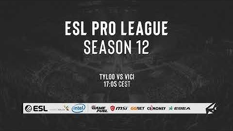 LIVE: Tyloo vs ViCi Gaming - ESL Pro League S12 Special Qualifier - Asia