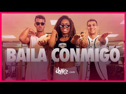 Baila Conmigo - Dayvi, Victor Cárdenas ft. Kelly Ruiz | FitDance TV (Coreografia Oficial)
